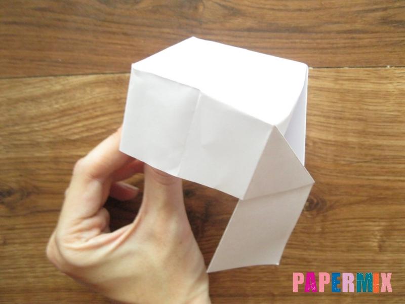 Как сделать кепку с козырьком из бумаги своими руками - шаг 16