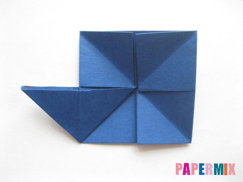 Как сделать книжный шкаф из бумаги (оригами) поэтапно - шаг 10