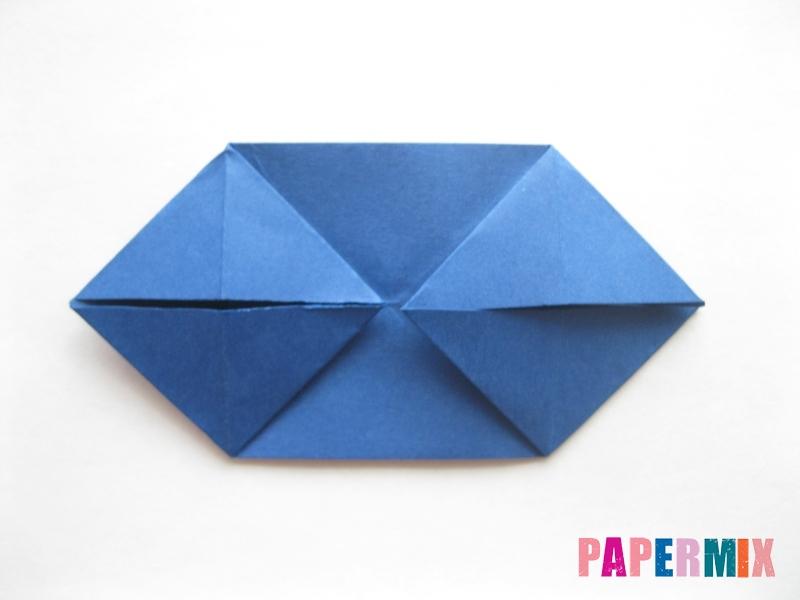 Как сделать книжный шкаф из бумаги (оригами) поэтапно - шаг 11