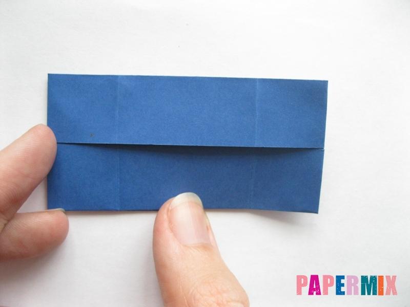Как сделать книжный шкаф из бумаги (оригами) поэтапно - шаг 22