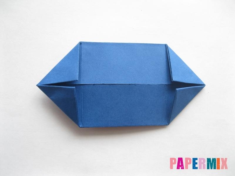 Как сделать книжный шкаф из бумаги (оригами) поэтапно - шаг 23