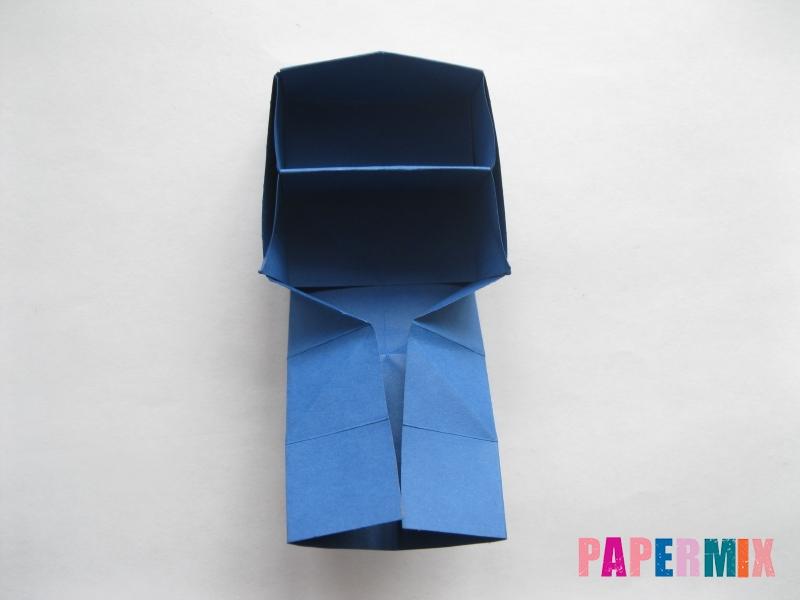 Как сделать книжный шкаф из бумаги (оригами) поэтапно - шаг 25