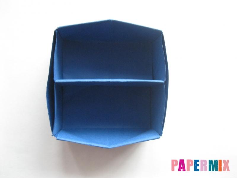 Как сделать книжный шкаф из бумаги (оригами) поэтапно - шаг 28