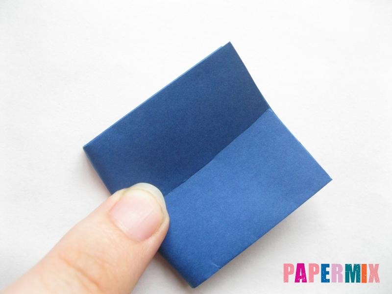 Как сделать книжный шкаф из бумаги (оригами) поэтапно - шаг 4