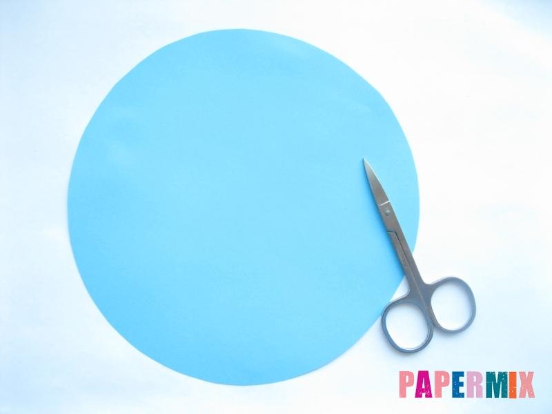 Как сделать конус из бумаги пошаговая инструкция - шаг 2