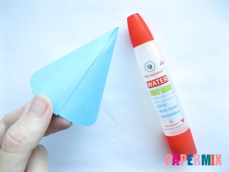 Как сделать конус из бумаги пошаговая инструкция - шаг 5