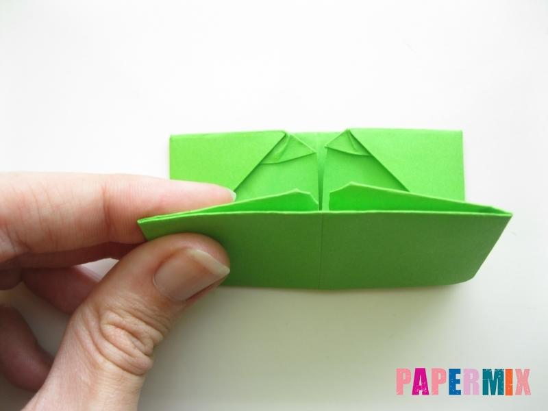 Как сделать кошелек из бумаги (оригами) своими руками - шаг 12
