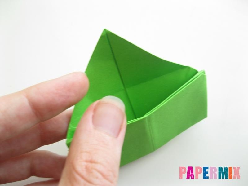 Как сделать кошелек из бумаги (оригами) своими руками - шаг 14