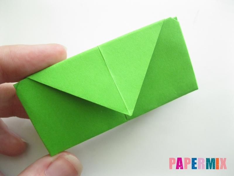 Как сделать кошелек из бумаги (оригами) своими руками - шаг 15