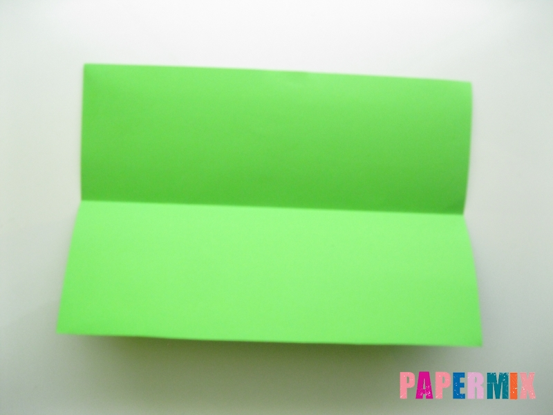 Как сделать кошелек из бумаги (оригами) своими руками - шаг 2