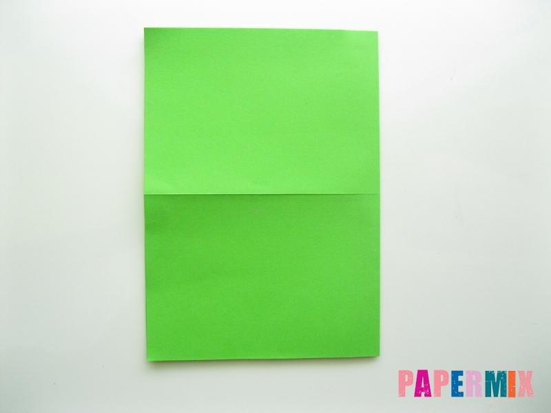 Как сделать кошелек из бумаги (оригами) своими руками - шаг 3