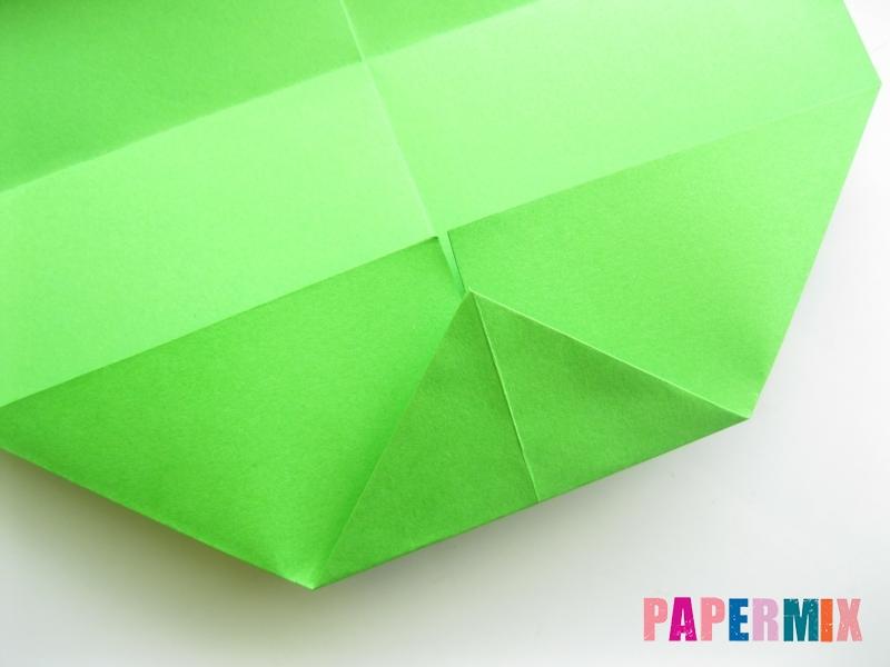 Как сделать кошелек из бумаги (оригами) своими руками - шаг 6