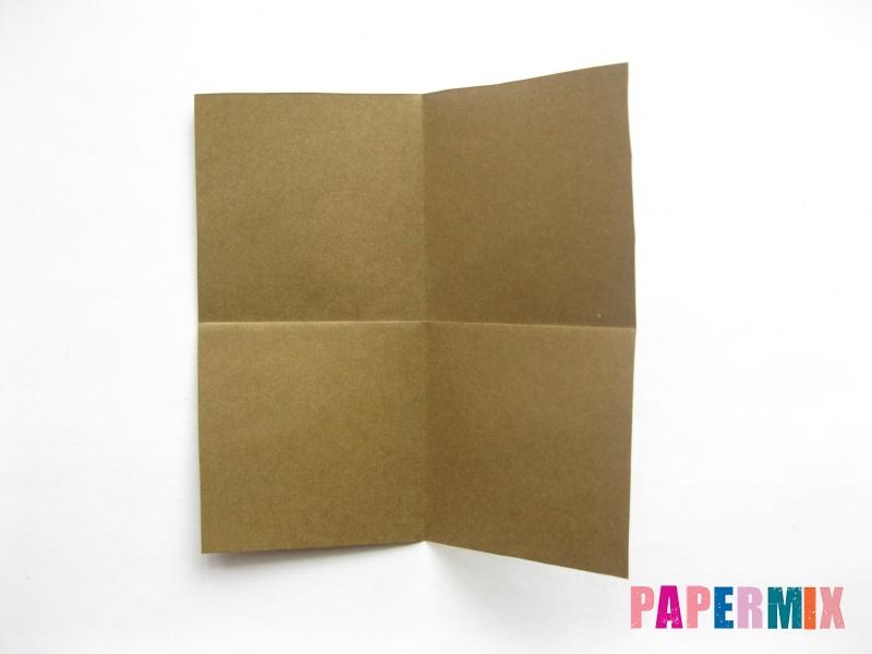 Как сделать кресло из бумаги (оригами) своими руками - шаг 1