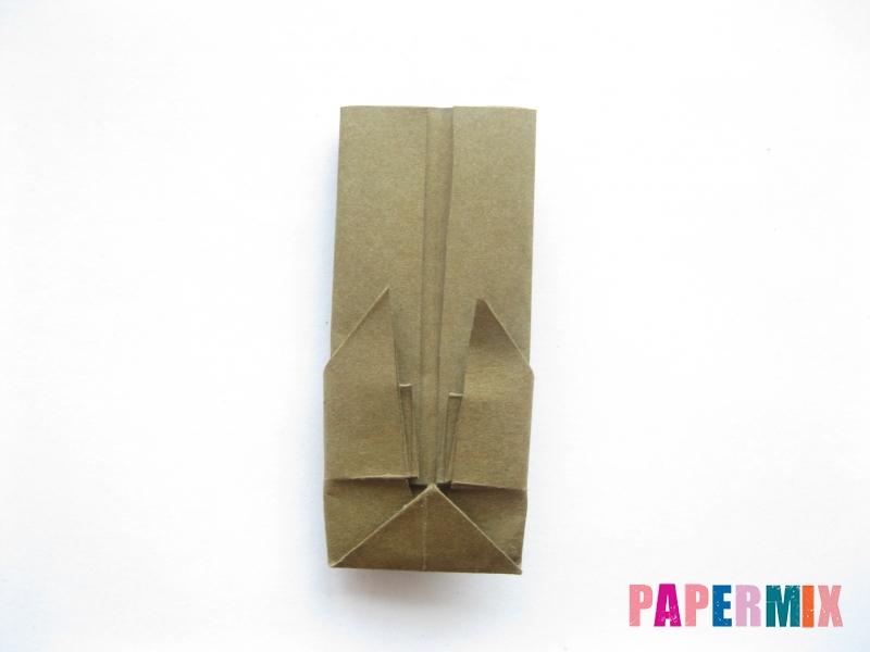 Как сделать кресло из бумаги (оригами) своими руками - шаг 12