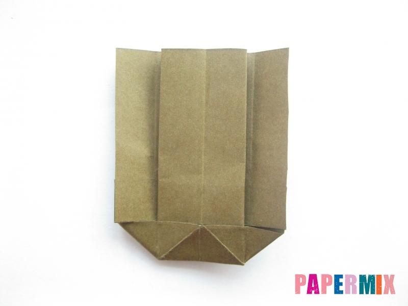 Как сделать кресло из бумаги (оригами) своими руками - шаг 13