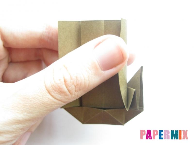 Как сделать кресло из бумаги (оригами) своими руками - шаг 14