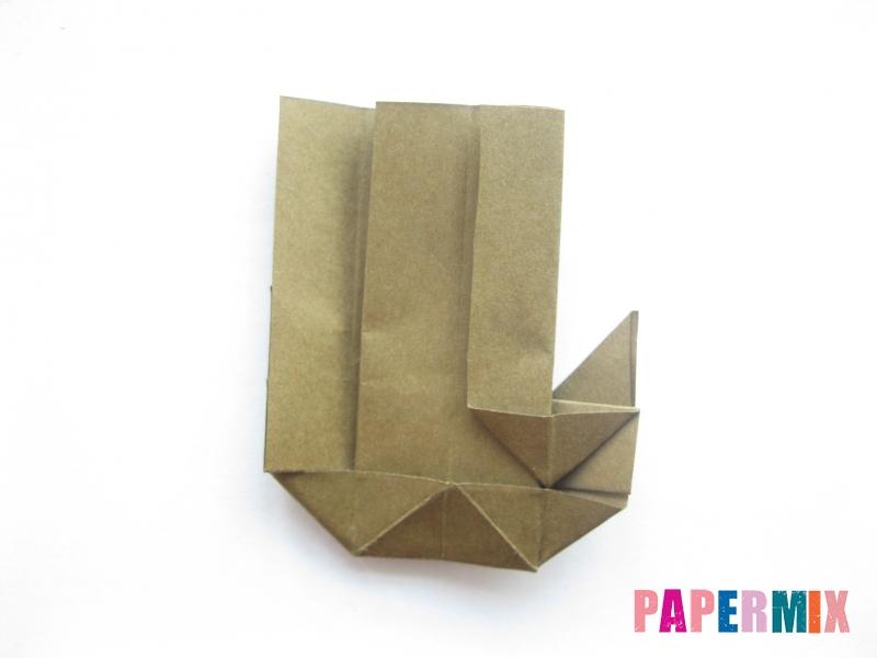 Как сделать кресло из бумаги (оригами) своими руками - шаг 15