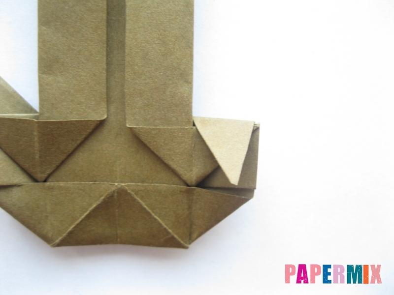 Как сделать кресло из бумаги (оригами) своими руками - шаг 17