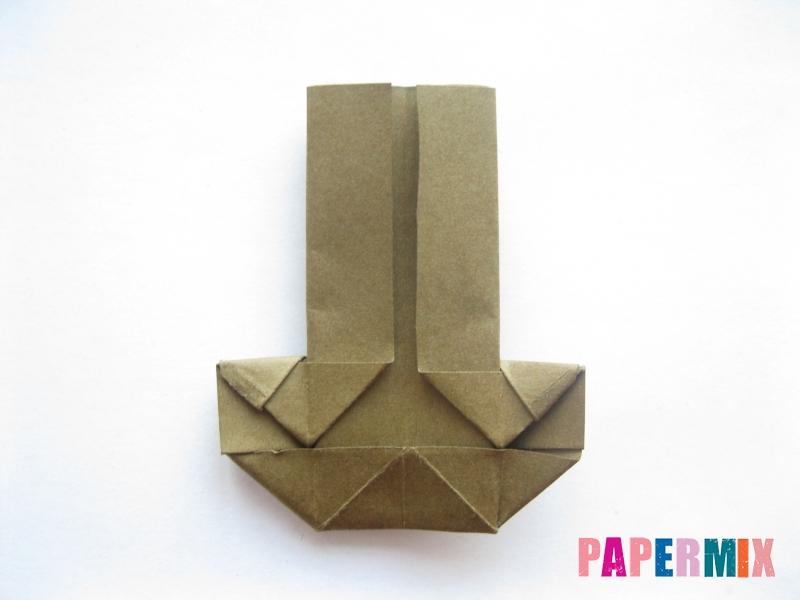 Как сделать стул из бумаги (оригами) поэтапно - шаг 20