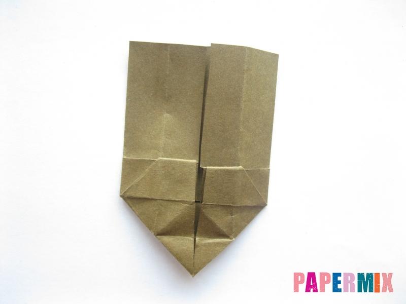 Как сделать стул из бумаги (оригами) поэтапно - шаг 21