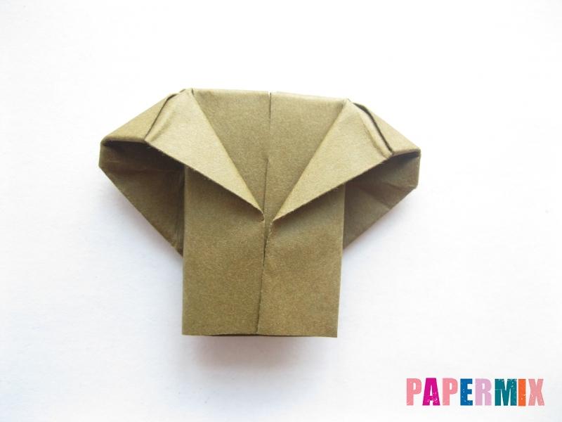Как сделать стул из бумаги (оригами) поэтапно - шаг 25