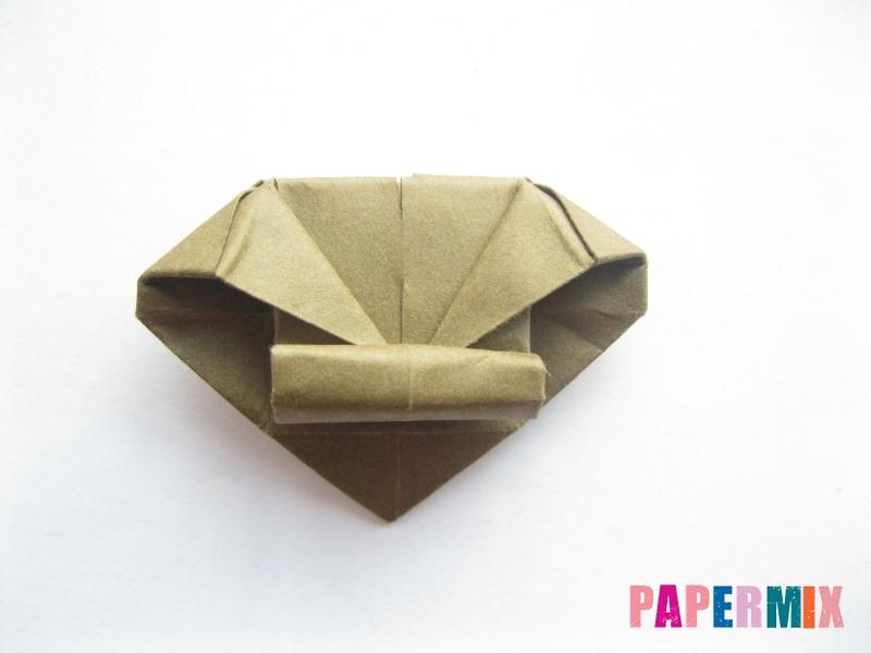 Как сделать стул из бумаги (оригами) поэтапно - шаг 26