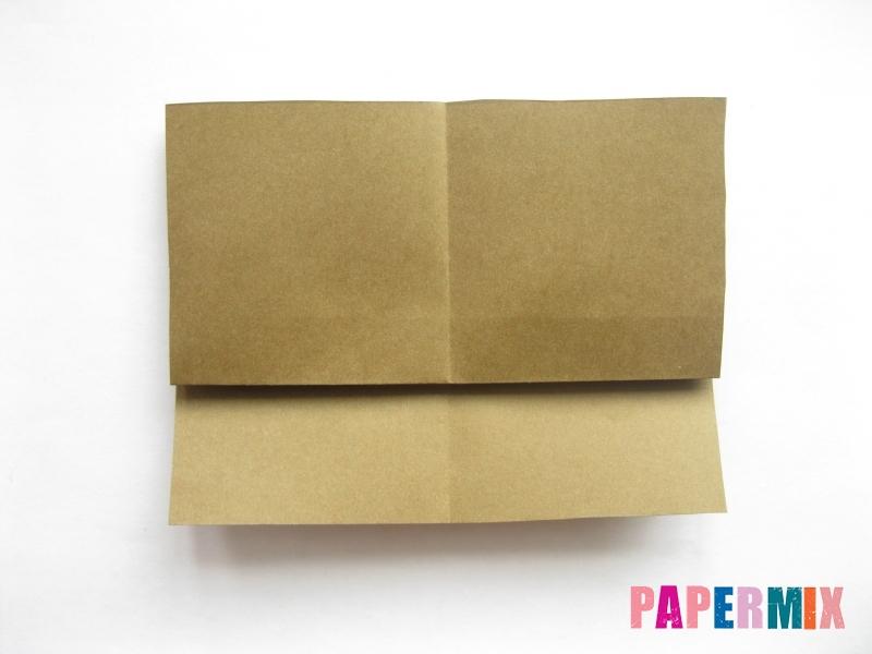 Как сделать кресло из бумаги (оригами) своими руками - шаг 3