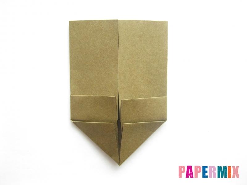 Как сделать кресло из бумаги (оригами) своими руками - шаг 5