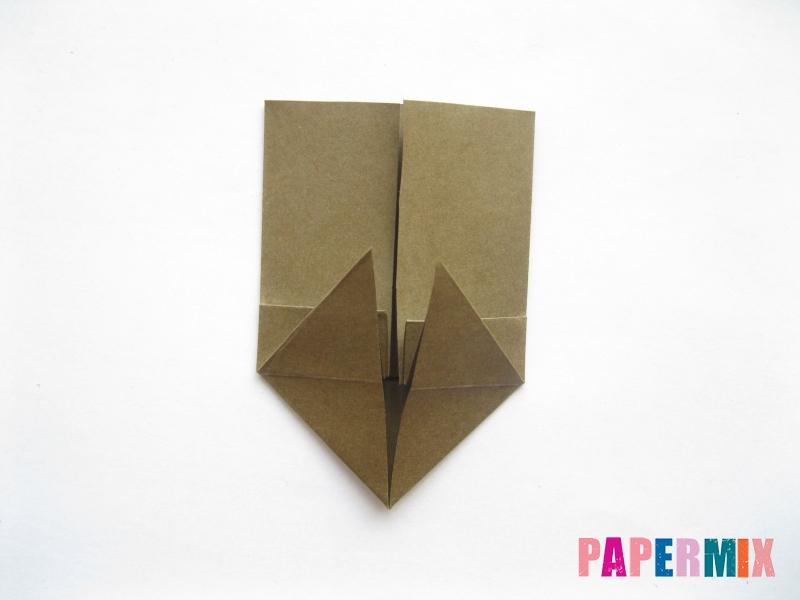 Как сделать кресло из бумаги (оригами) своими руками - шаг 8