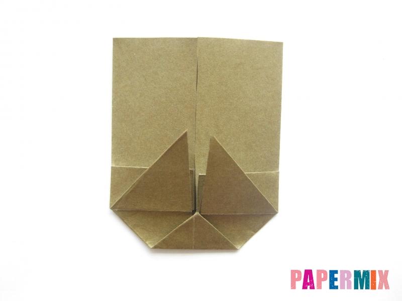 Как сделать кресло из бумаги (оригами) своими руками - шаг 9