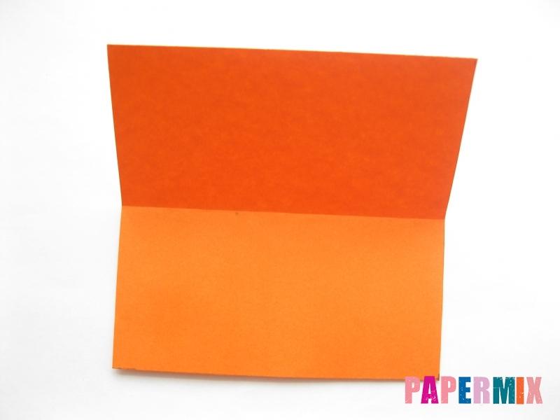 Как сделать кровать из бумаги (оригами) поэтапно - шаг 2