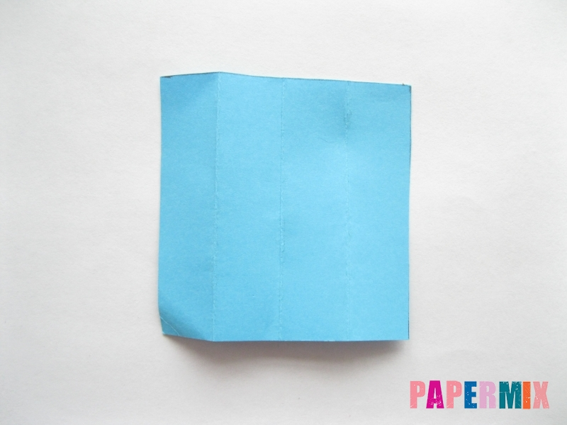 Как сделать кровать из бумаги (оригами) поэтапно - шаг 22