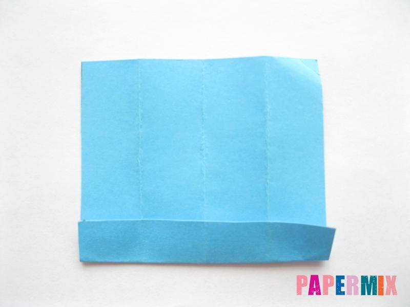Как сделать кровать из бумаги (оригами) поэтапно - шаг 23