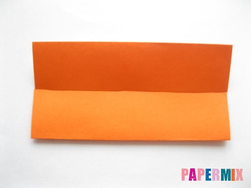 Как сделать кровать из бумаги (оригами) поэтапно - шаг 3