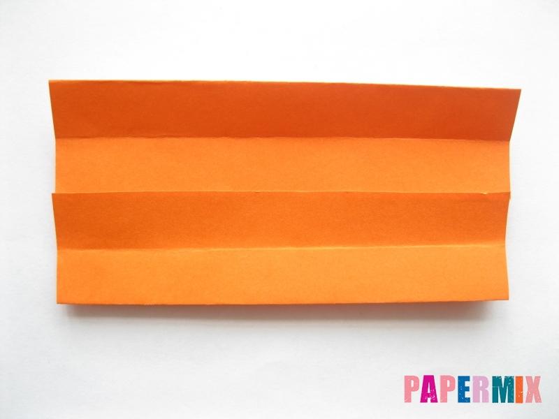Как сделать кровать из бумаги (оригами) поэтапно - шаг 5