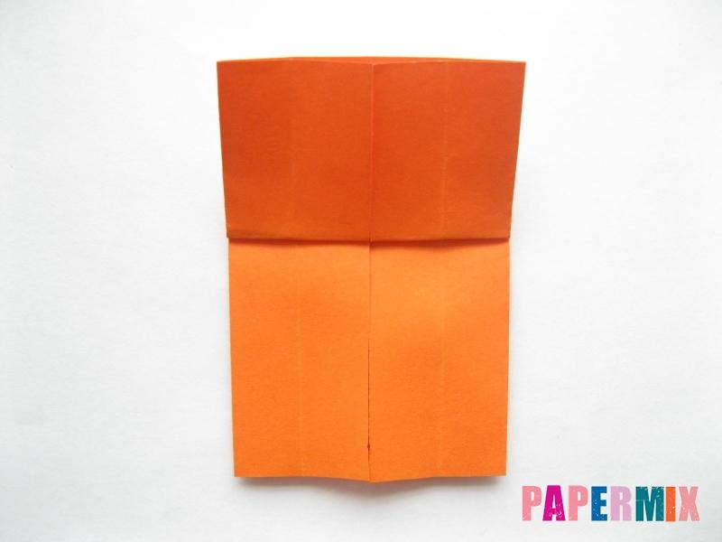 Как сделать кровать из бумаги (оригами) поэтапно - шаг 8