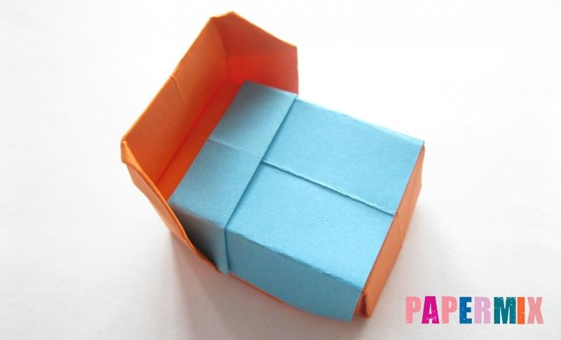 Как сделать кровать из бумаги в технике оригами своими руками поэтапно