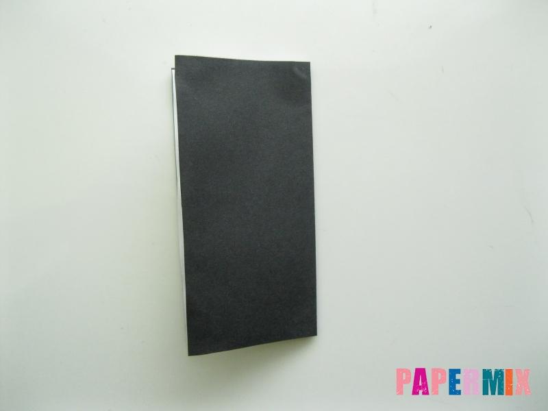 Как сделать мужской костюм из бумаги (оригами) - шаг 12