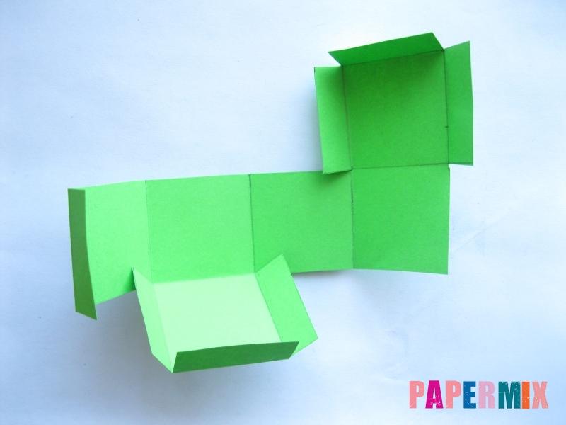 Как сделать объемный квадрат из бумаги поэтапно - шаг 3