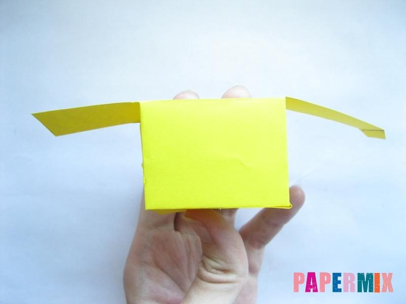 Как сделать параллелепипед из бумаги схема - шаг 4