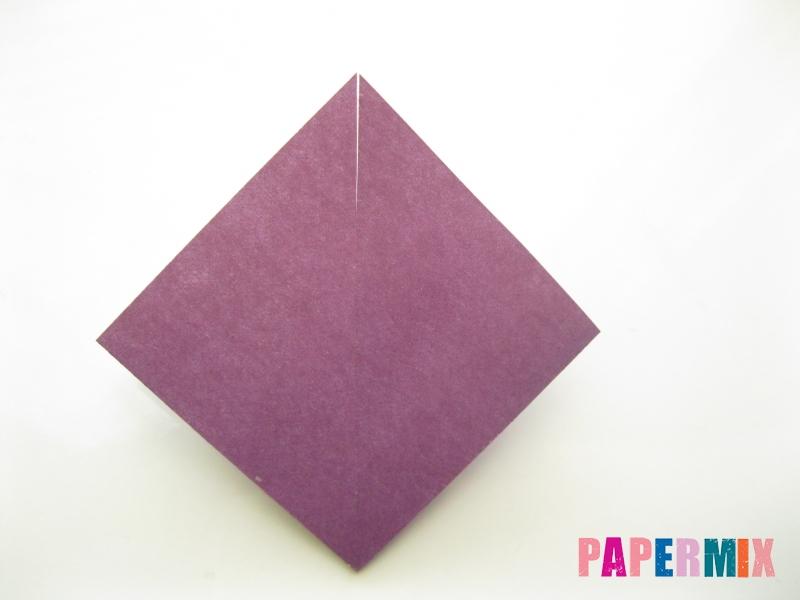 Как сделать платье из бумаги (оригами) своими руками - шаг 13