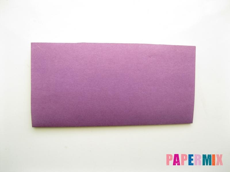 Как сделать платье из бумаги (оригами) своими руками - шаг 18