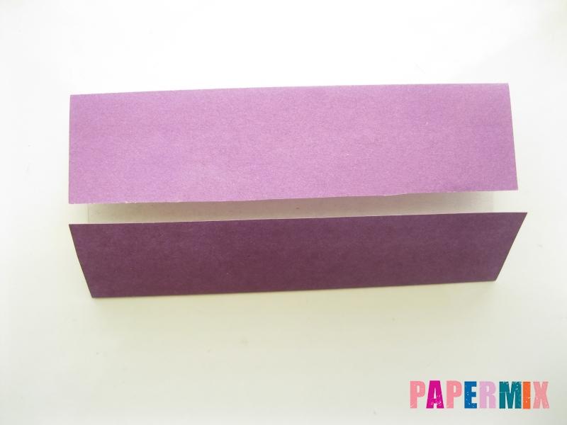 Как сделать платье из бумаги (оригами) своими руками - шаг 19