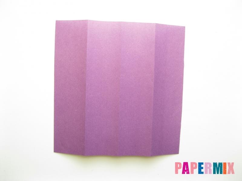 Как сделать платье из бумаги (оригами) своими руками - шаг 20