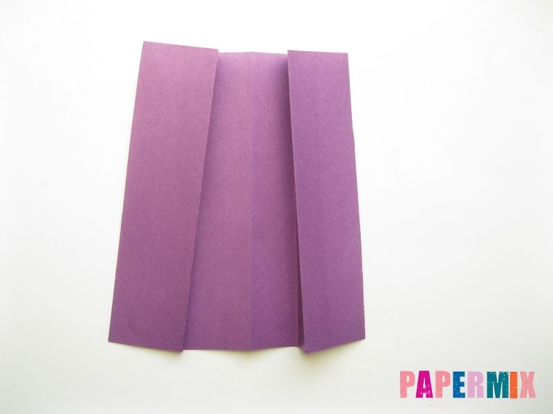 Как сделать платье из бумаги (оригами) своими руками - шаг 21