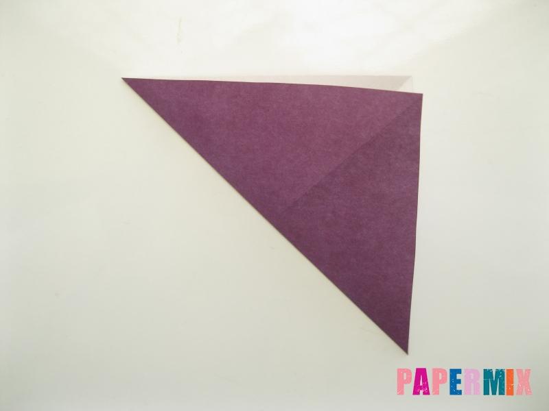 Как сделать платье из бумаги (оригами) своими руками - шаг 3