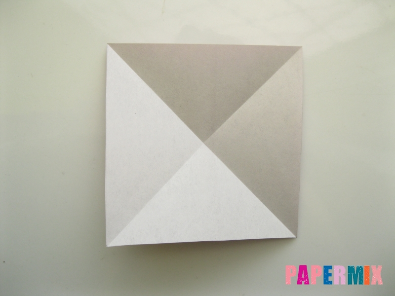 Как сделать платье из бумаги (оригами) своими руками - шаг 4