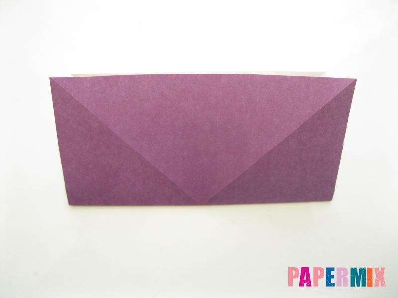 Как сделать платье из бумаги (оригами) своими руками - шаг 5