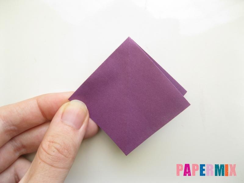 Как сделать платье из бумаги (оригами) своими руками - шаг 7