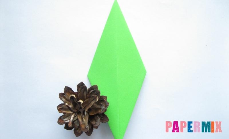 Как сделать ромб из бумаги в технике оригами своими руками поэтапно